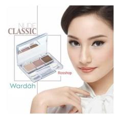 Wardah Nude Color EyeShadow - Classic
