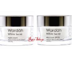 Wardah White Secret Day dan Night Cream - 30 gr