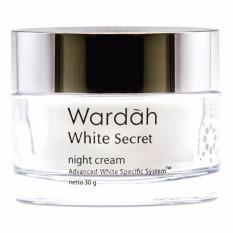 Wardah White Secret Night Cream - 30gr