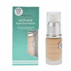 Wardah Exclusive Liquid Foundation No. 03 - Sandy Beige