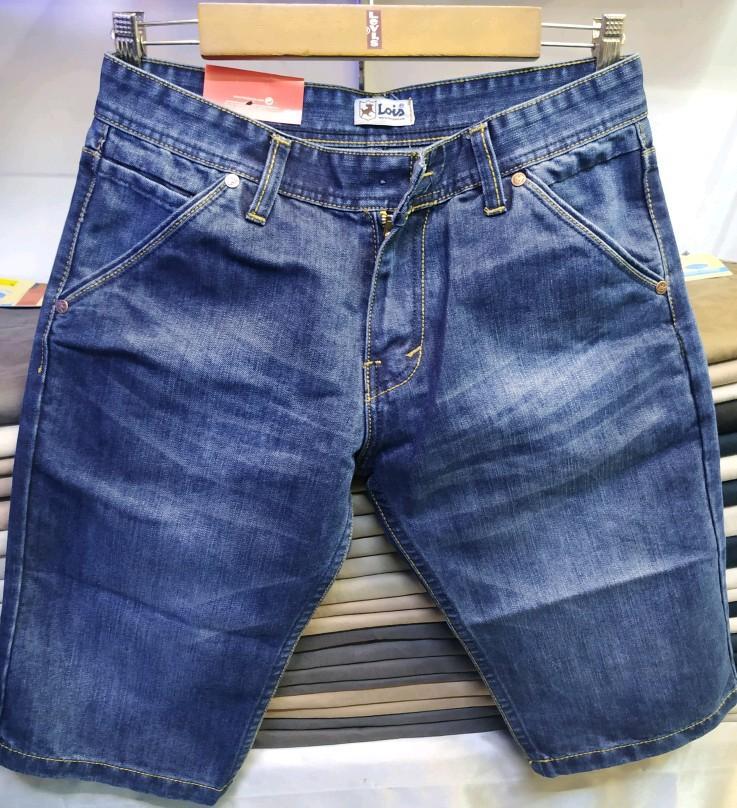 Celana jeans pendek pria/fashion pria/pendek sobek pria best seller