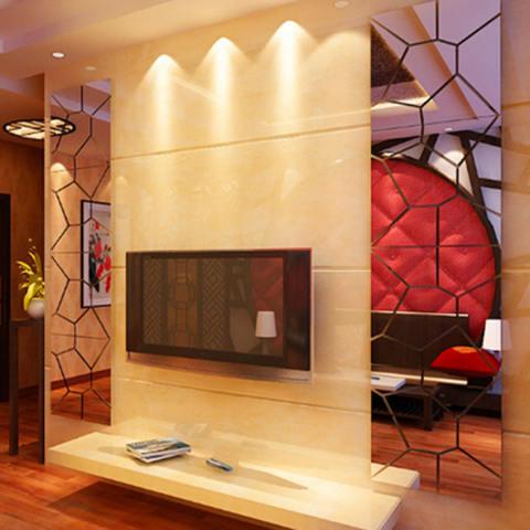 5 Pcs * Wallpaper Unik Stiker Dinding Muslim Huruf Stiker Hiasan Dinding Rumah Hiasan Stiker Ruangan Stiker-Internasional 1