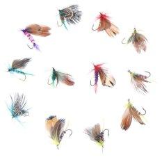12 Buah Terbang Serangga Penangkapan Ikan Umpan Buatan