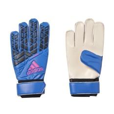 Adidas Ace Training Goalkeeper Gloves - Blue - Core Black - White - Shock Pink