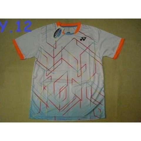 Baju Badminton / Bulutangkis Yonex Y.12 Laser White