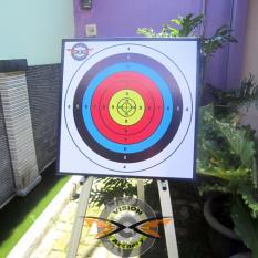 Bantalan Face Target 60x60x5cm Bergaransi  Bantal Karet Sasaran Arrow  Busur Anak Panah Panahan