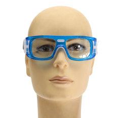 Olahraga Sepak Bola Basket Kacamata Mata Kacamata Pengaman Pelindung Elastis Biru