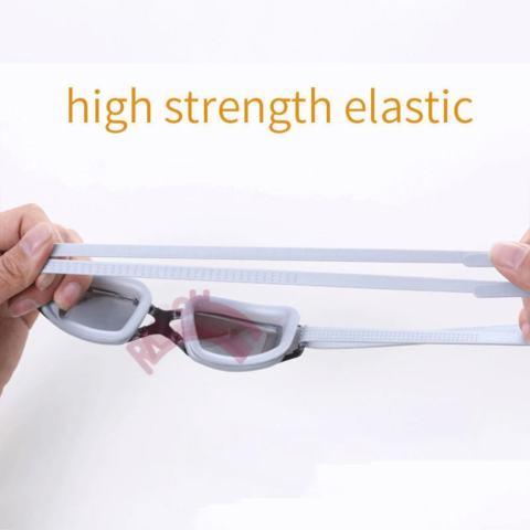 Rainbow Kacamata Renang Santai Swimming Goggles Kaca Mata Mirror Anti Fog UV Protection Swimming Goggle Berenang