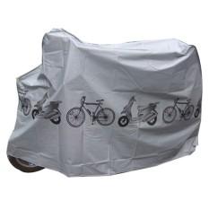 Bike Cover Menolak Air Senja Hujan untuk Sepeda Gunung Motor Motorcar Electric Mobile Warna: Abu-abu Spesifikasi: 210*100 Cm