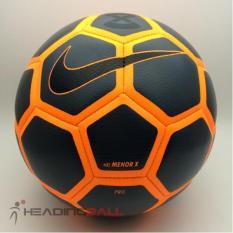 Bola Futsal Nike Original Menor X Ball Wolf Grey Orange SC3039-012