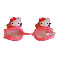 DeeRde Kacamata Renang Anak Hello Kitty - Pink