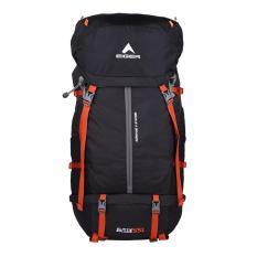 Eiger Tas Gunung Pria Eliptic Solaris 55L - Hitam Orange