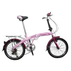 Eragon Sepeda Lipat 20280 - Pink