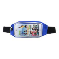 G-Smart Blue Waterproof Waist Sport Bag Smartphone 5.5-6