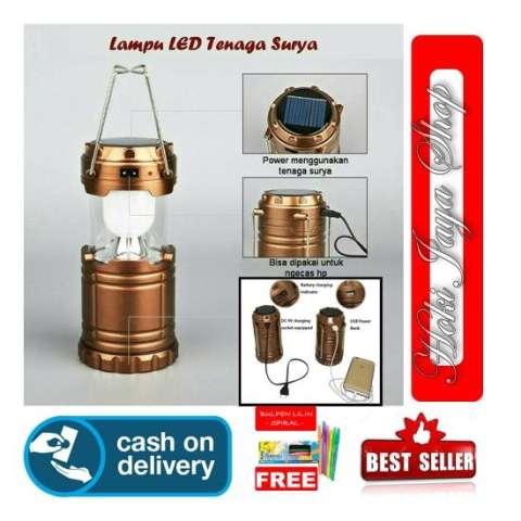 HOKI COD - Lampu Senter Lantera POWER BANK Emergency Camping LED Lentera Multi Fungsi - Multi