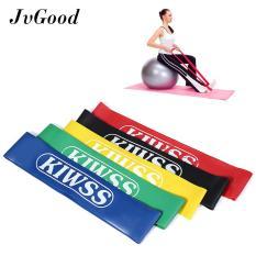 JvGoood Tension Resistance Band perlawanan Loop latihan Fitness untuk Cross cocok Yoga dan terapi fisik (5pcs)