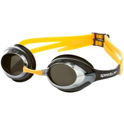 Kacamata Renang Speedo Merit Mirror Black