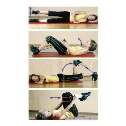 Kado Unik-- Tali Fitnes / Tali Bantu Otot Gym Fitness / resistance Yoga & Pilates / Aksesoris Fitness / resistance Yoga & Pilates Murah / Tali Olahraga Murah / Tali Karet Yoga 1