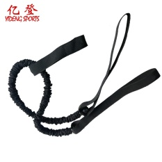 Kin Abdomen Round Tensile Rope Resistance with Abs Wheel Auxiliary Word with Composite Elastic Rope Exercise Fitness Equipment - intl