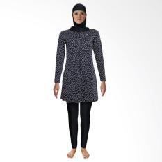 Lasona TRPM-C1209-L0732X Baju Renang Muslim Wanita - Hitam