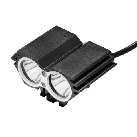 LED Super Terang Lampu Depan Sepeda, Pengisian Lampu Sepeda Hitam (EU)-International 2