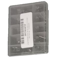 Mata Pancing Kail Satu Set Box 10 set ukuran 3-12 (Putih)