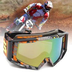Motocross Motorcycle Goggles Anti-Fog UV Protection ATV Quad MX Bike Eyewear Audew