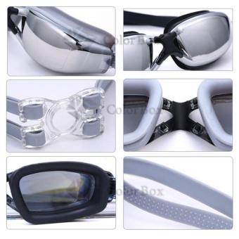 Promo MR Kacamata Renang Santai Kacamata Swimming Goggles Anti Fog Uv Protection Kaca Mata Renang +