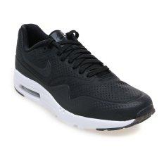 Nike Air Max 1 Ultra Moire Sneakers Pria - Hitam-Putih