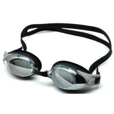 Obaolay Kacamata Renang Minus 3.0 Anti Fog UV Protection - Black