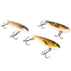 PROBEROS 6pcs Outdoor Fishing Lures Bait with 2 Hook
