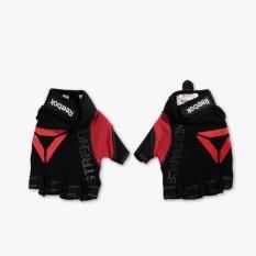 Reebok Training Strength Men's Gloves - L - Hitam-Merah