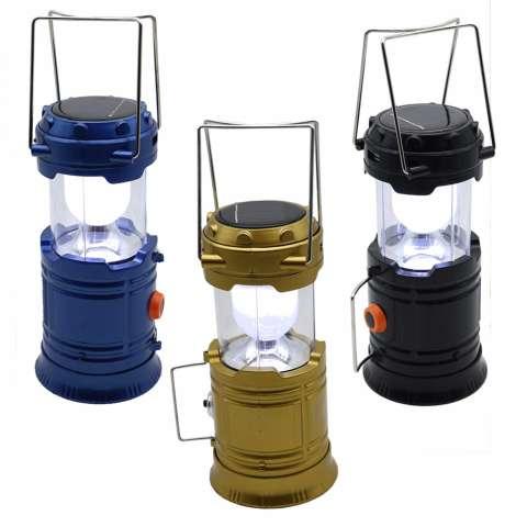 RUIBAO Senter Lampu Emergency - Lentera Camping Powerbank Solar RB