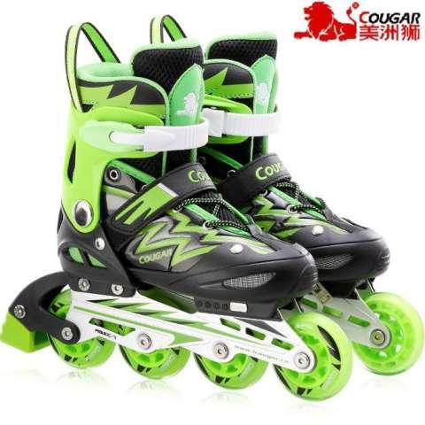 Cougar Inline Skate Sepatu Roda Mzs68fb Bkrd Size 34 37 - Wikie ... efbafaf8e5