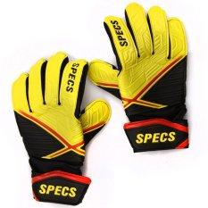 Specs Romulus Gk Gloves Kuning Hitam