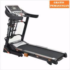 Gratis Ongkir Jabodetabek-Karawang-Serang Sport Treadmill Electric Turin M5 Black