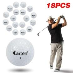 Karet Sintetis Ball Turnamen 4 Layer Golf Ball Diameter 40.35mm Golf Bola -Intl