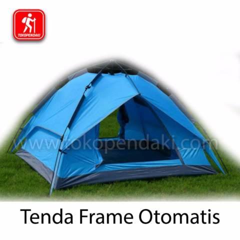 Home; Tenda Automatic Frame Kaps 5 Orang Mudah Cepat Didirikan Multifungsi Camping Gunung / Festival