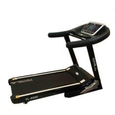 Total Fitness Motorized Treadmill TL8080 Hitam - Gratis Pengiriman & Instalasi Khusus JABODETABEK, Surabaya dan Sidoarjo