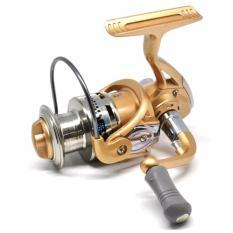 Universal Fanshun Gulungan Pancing FB4000 Metal Fishing Spinning Reel 10 Ball Bearing - Golden