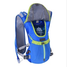 VEECOME Outdoor Blue 8L Outdoor Running Bag Marathon Hydration Vest Backpack Lightweight Hiking Cycling Riding Vest