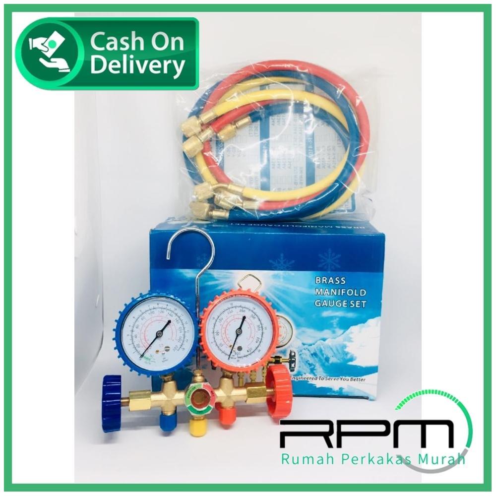 Manifold gauge Set Brass - Manifold AC Set