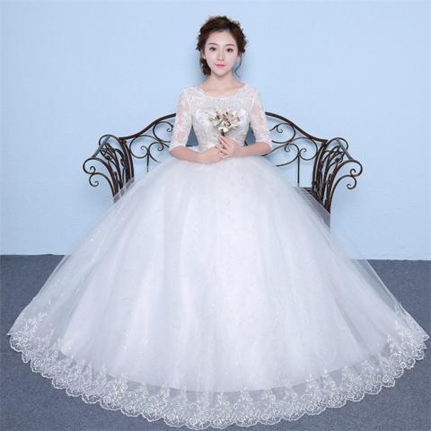 1706035 Gaun Pengantin Putih Wedding Gown Wedding Dress