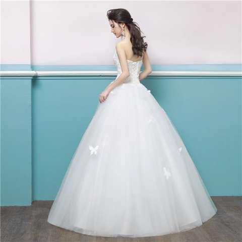 1711012 Gaun Pengantin Putih Wedding Gown Wedding Dress