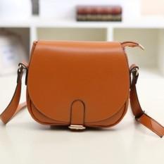 2017 new korean fashion handbags saddle bags lady shoulder messenger bag - intl