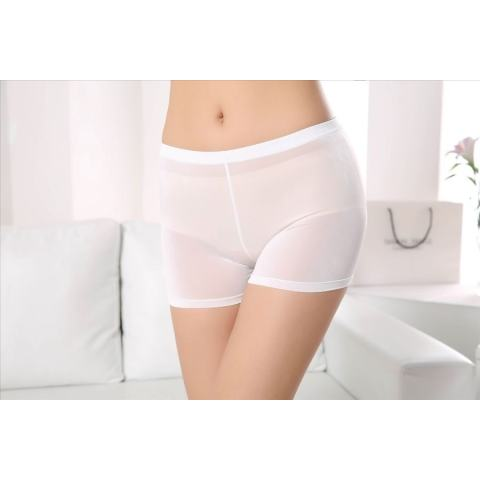 Home; 2 Pcs Fashion Es Sutra Legging Datar Safety Nn. Celana (Beige)