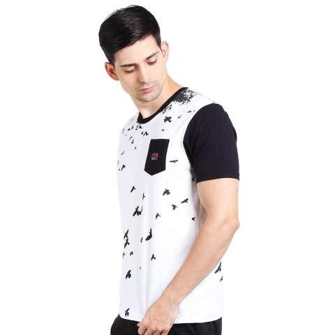 3 Second Men Tshirt Black Diskon discount murah bazaar baju celana fashion brand branded 1