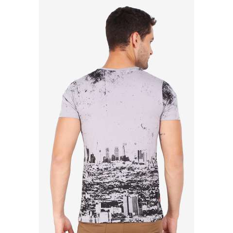 3 Second Men Tshirt Grey Diskon discount murah bazaar baju celana fashion brand branded 2