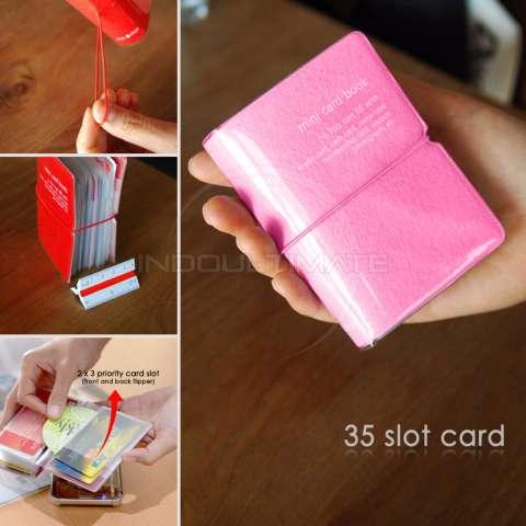 35 Slot PREMIUM Card Wallet/Dompet Kartu ATM/credit card OR 91-01