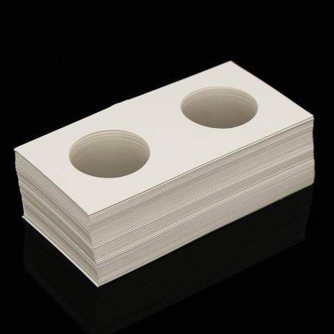 50 Pcs Berjenis Cap Kertas Karton Kotak Penyimpanan Pemegang Koin Case 27.5-Intl 2